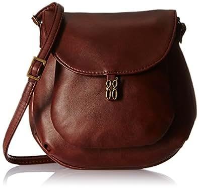 Baggit Lmp Tropez Tinsel Women's Sling Bag (Brown)