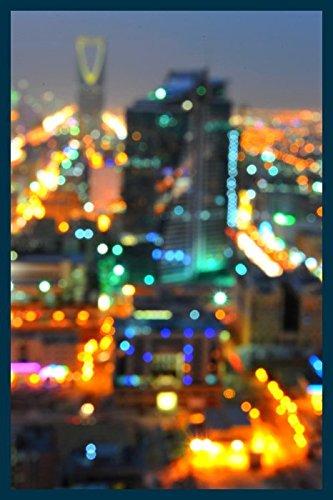 Bild mit Rahmen Hady Khandani - RIYADH BLURR - SAUDI ARABIA - Digitaldruck - Holz blau, 40 x 60cm - Premiumqualität - HADYPHOTO, Fotografie, Photografie, Vorderasien, Saudiarabien Panorama, Stadt, Riad, .. - MADE IN GERMANY - ART-GALERIE-SHOPde