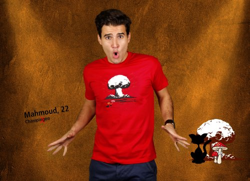 Papa - Herren T-Shirt von Kater Likoli Red