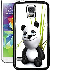 ColourCraft Cute Panda Design Back Case Cover for SAMSUNG GALAXY S5 NEO