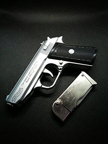 Mini Feuerzeug Pistole Walter PPK mit Holster NEU&OVP