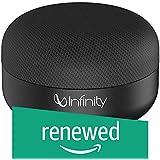 (Renewed) Infinity (JBL) Fuze Pint Deep Bass Portable Wireless Speaker (Charcoal Black)