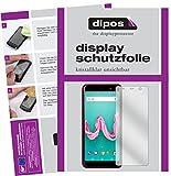 dipos I 2X Schutzfolie klar passend für Wiko Lenny 5 Folie Bildschirmschutzfolie