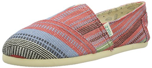 PaezOriginal Eva Indie Arabic - Espadrillas Unisex - Adulto , Multicolore (Mehrfarbig (Blue, Red, Black 0074)), 38