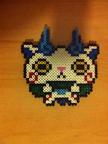 Pixel Art Perler Beads Yo Kai Watch Komasan
