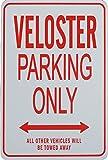 VELOSTER Parkplatz nur Zeichen