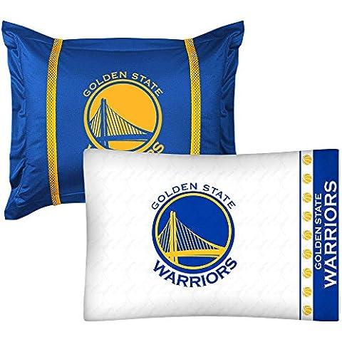 2pc NBA Golden State guerreros funda de almohada y funda de almohada Sham juego de baloncesto Logo del equipo ropa de cama accesorios