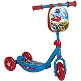 Super Wings - Scooter, 3 ruedas y mochila (ColorBaby 77009)