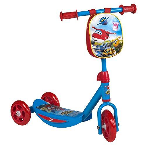 Super Wings - Scooter 3 ruedas & mochila (ColorBaby 77009)