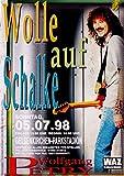 PETRY, WOLFGANG - 1998 - Konzertplakat - Auf Schalke -