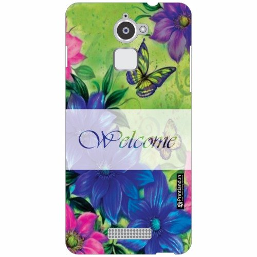 Coolpad Note 3 Lite Back Cover - Welcome Designer Cases