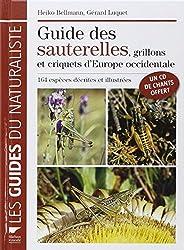 Le guide des sauterelles, grillons et criquets d'Europe occidentale (1CD audio)