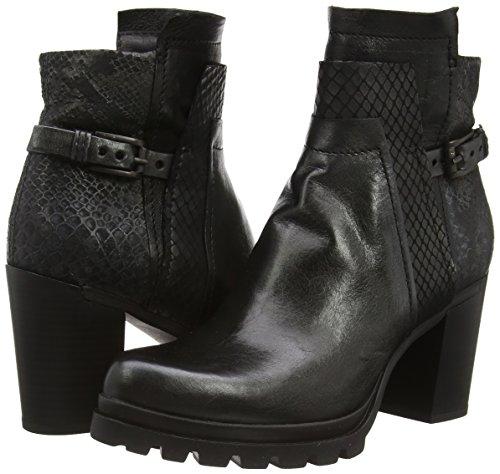Mjus  629203, Bottes Classics courtes, doublure chaude femmes Noir - Noir