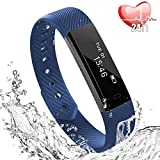 Fitness Tracker, Bracciale Fitness, Braccialetto, Fitness Watch IP67 Impermeabile Compatibile IOS...
