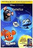 Dawno Temu w Trawie / Gdzie Jest Nemo / Ratatuj Pixar Pakiet (Wydanie Specjalne z Kartami Do Gry 2w1) (PiotruĹ/Memory) [3DVD] (Deutsche Sprache)