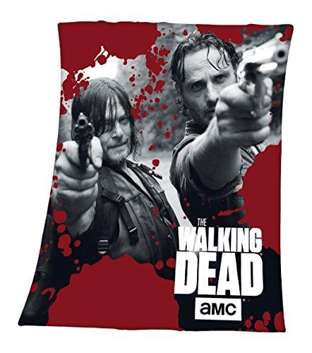The Walking Dead Fleecedecke, 130x160cm