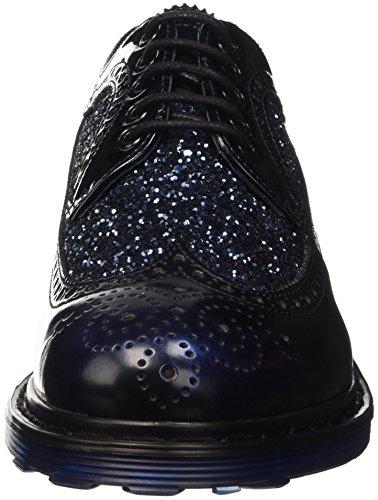 Cult Damen Sabbath Brogue-Schuhe Blau
