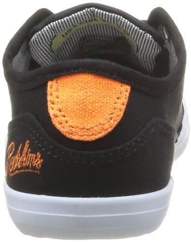 Redskins Hobbolkid, Jungen Sneaker Schwarz - Noir (Noir/Orange)