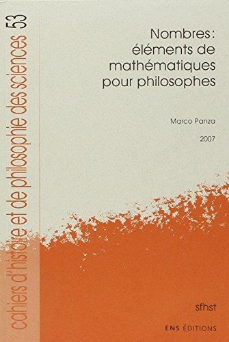 Nombres : Eléments de mathématiques pour philosophes