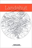 Poster 100 x 150 cm: Landshut Karte Kreis von Campus