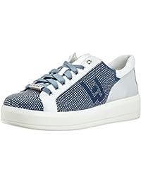 LIU JO Sneakers B18019T2030 10602 rose con strass pieni fdo a cassetta in  pelle e 6aff1e14f26