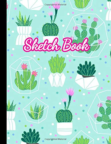 """Sketch Book: Large Notebook for Drawing, Doodling or Sketching: 100 Pages, 8.5\"""" x 11\"""" Cover Sketchbook (Blank Paper Drawing and Write Journal)"""