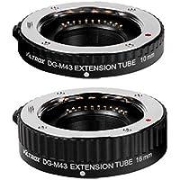 Viltrox DG-M43 Auto Focus AF Macro Extension Tube 10mm 16mm Lens Adapter Ring for Micro M4/3 MFT Olympus E-P1 E-P2 Panasonic