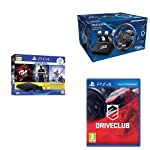 Sony PS4 500 GB Slim Console+Thrustmaster T150 Pro Racing Wheel for PS4+Drive Club (PS4)