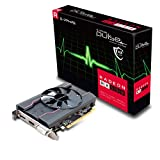 Sapphire Pulse AMD Radeon RX550 4 GB 128-Bit GDDR5 Memory DisplayPort/HDMI/DL-DVI-D PCI Express Graphics Card - Black