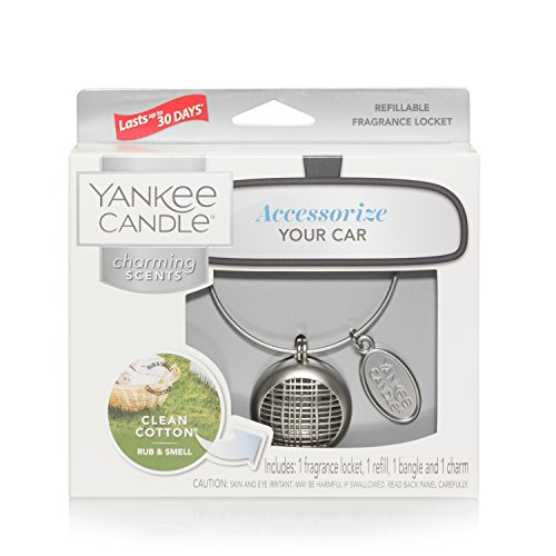 Yankee Candle Charming Scents Linear Starter Kit, Clean Cotton (Düfte Candle Liquid)