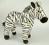 Zebra ca. 35 cm Plüschtier Kuscheltier Stofftier Plüschzebra 131 von Zaloop
