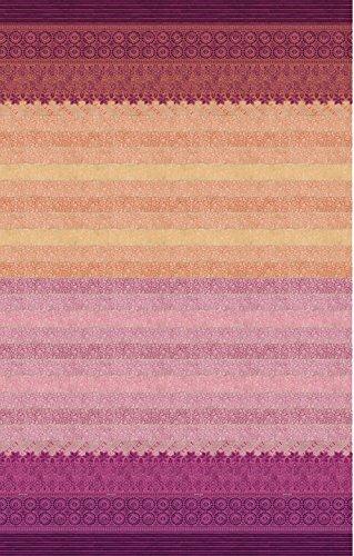 Bassetti Granfoulard telo APPIANI var.9 270 x 270cm bordo'-rosa