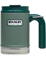 Stanley Trinkbecher Tasse Adventure Vacuum Steel Camp Mug, Grün, 662200