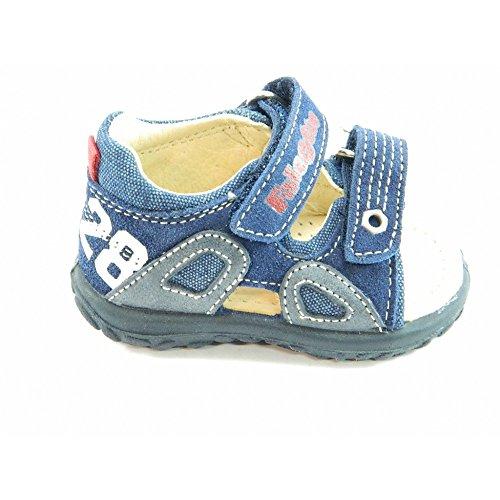 Falcotto - Falcotto sandaletto blu bambino 719 - Blu, 18
