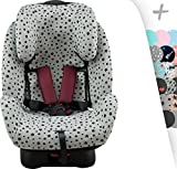 JANABEBE Funda para Joie Stages, Every Stages con refuerzo Air Confort (BLUE HEART)