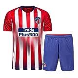 zhaolian888 2018-2019 (Heim & Auswärts) UEFA-Fußball-Trikot personalisiert jeder Name und Nummer, Custom T-Shirt Fußball-Kits für Kinder Jugend Erwachsene Jungen