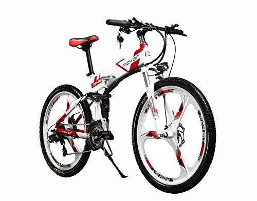 Eléctrico plegable para bicicleta de montaña...