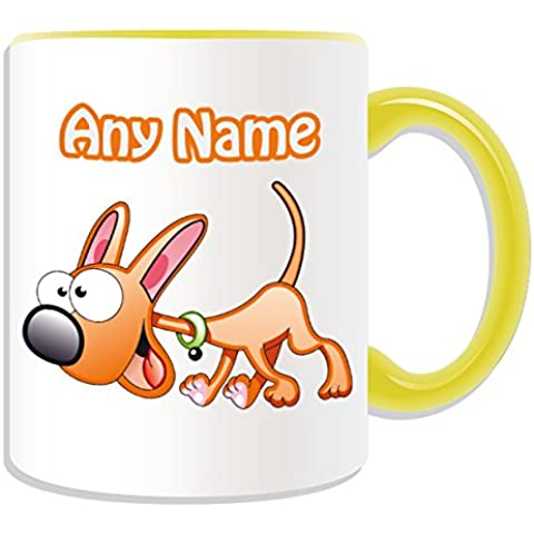 Occasions Direct-Tazza in confezione regalo, motivo: Happy Dog#2, tema: animali,