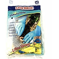 Leifheit Ultra Strong Household and Kitchen Gloves - Medium, Blue