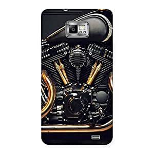 Premium Chopper Engine Back Case Cover for Galaxy S2