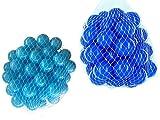 200 Bälle für Bällebad gemischt mix mit türkis und blau