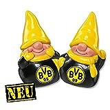 Borussia Dortmund Wichtel / Zwerg / Weihnachtsfigur / Figuren 2er Set BVB 09