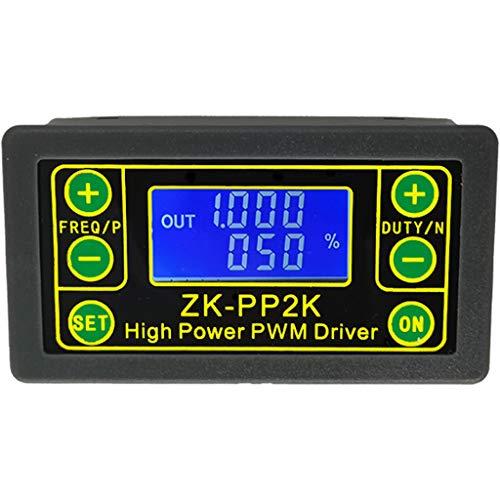 Anjuley ZK-PP2K PWM Geschwindigkeitsregler für Motorgeschwindigkeit mit Variabler Frequenz des Zyklusreglers Einstellbarer LED-Dimmer, digitaler Impulssteuerung, 2 Modi -