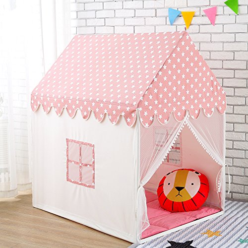 Wonder Space Kinder Spielhaus Zelt - 100% natürliche -