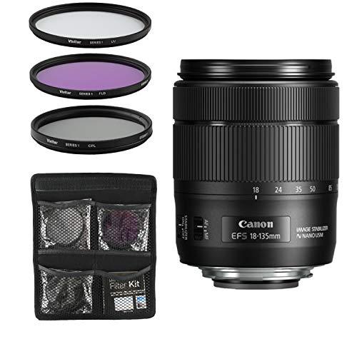 Canon Obiettivo - EF-S 18-135 mm f/3.5-5.6 IS USM - Nero