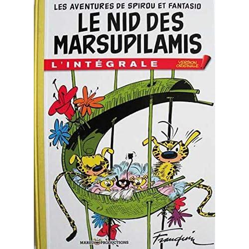 Les Aventures de Spirou et Fantasio : Le Nid des Marsupilamis : L'intégrale