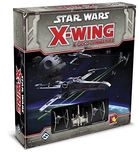 Asmodee Italia Star Wars X-Wing Il Gioco di Miniature-Edizione Italiana, Colore Rosso, 9900