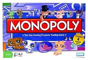 littlest petshop monopoly jeux jeux et jouets. Black Bedroom Furniture Sets. Home Design Ideas