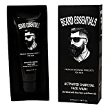 #8: Beard Essentials Activated Charcoal Face Wash For Men - 100ml