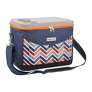 anndora Kühltasche 22 L Kühlbox 35 x 24 x 27 cm - blau orange